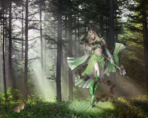 Forest Fairy Wallpaper