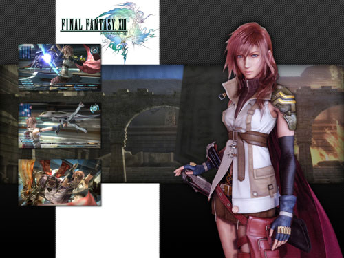 Creating A Final Fantasy XIII Wallpaper