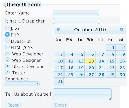50 Useful jQuery Plugins to Enhance your Forms - noupe