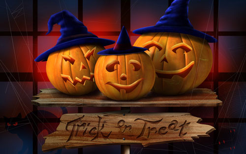 Halloween feast desktop wallpapers download