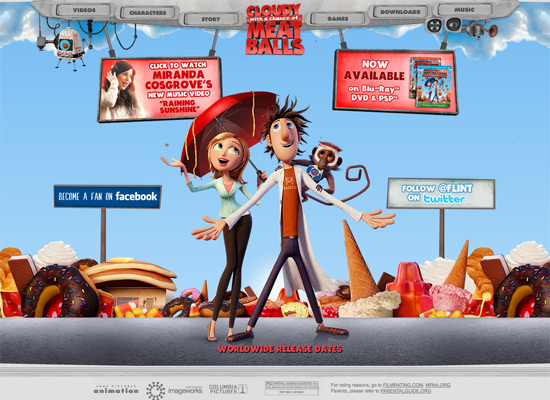 cloudy with a chance of meatballs machine name