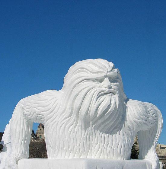 amazing art of snow - photo #18