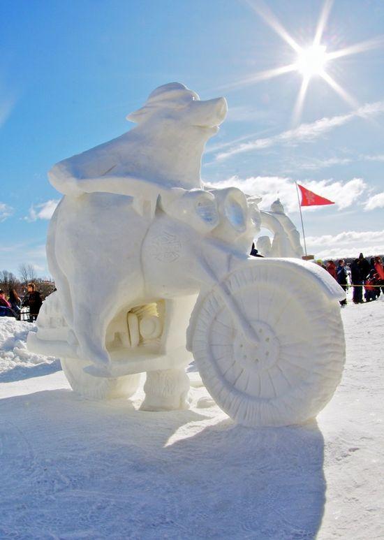 amazing art of snow - photo #6