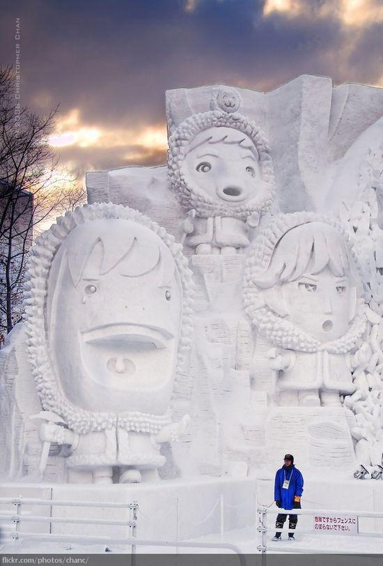 amazing art of snow - photo #22