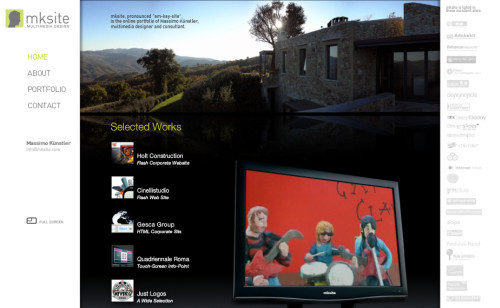 22-massimo-kunstler-freelancer in Showcase of Web Design in Italy