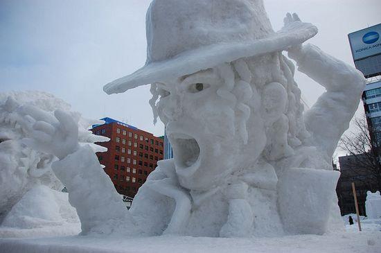 amazing art of snow - photo #10