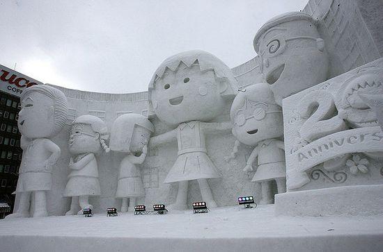amazing art of snow - photo #11