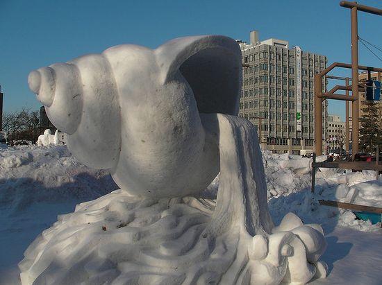 amazing art of snow - photo #37