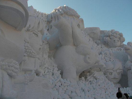 amazing art of snow - photo #43