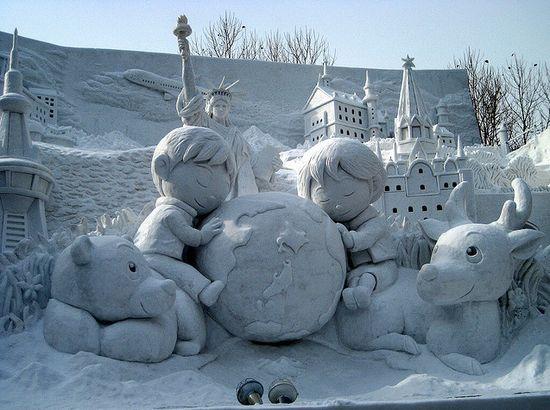 amazing art of snow - photo #5