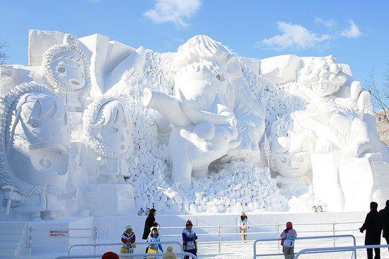 amazing art of snow - photo #42
