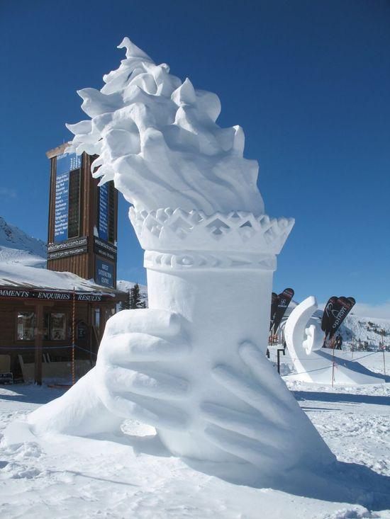 amazing art of snow - photo #3