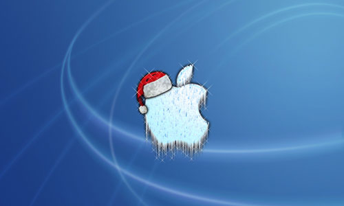 Frozen Christmas Mac wallpaper