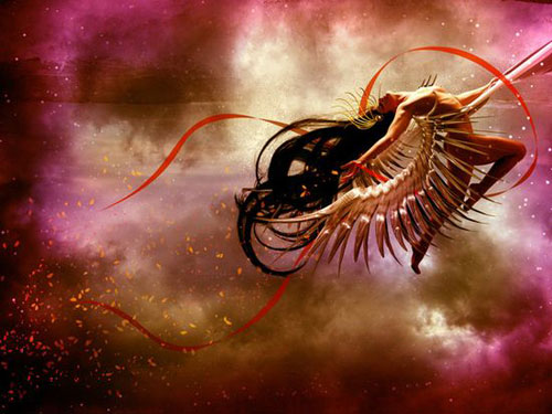 Create a Cosmic Love Goddess With Photoshop CS5