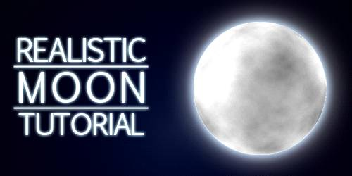 Create A Realistic Moon With Photoshop