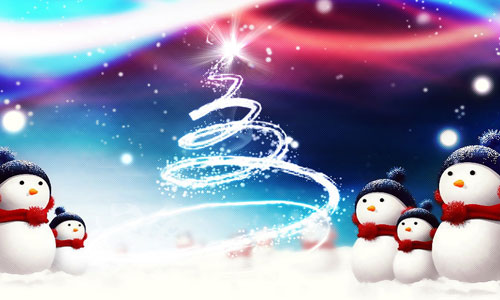 Magic Christmas Wallpaper