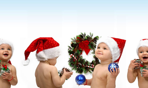 Santa kids wallpapers