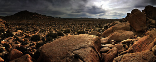 Mojave Desert dual monitor Wallpaper