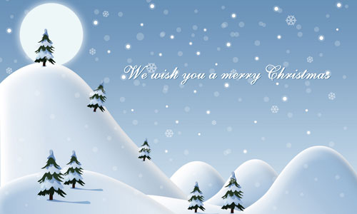 We Wish You a Merry xmas wallpaper