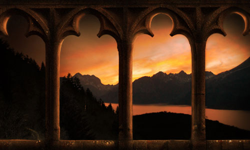 Create a Scenic Castle Hallway in Photoshop
