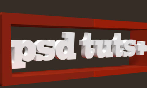 Use Photoshop CS5 Extended to Create a Simple 3D Logo – Screencast Even