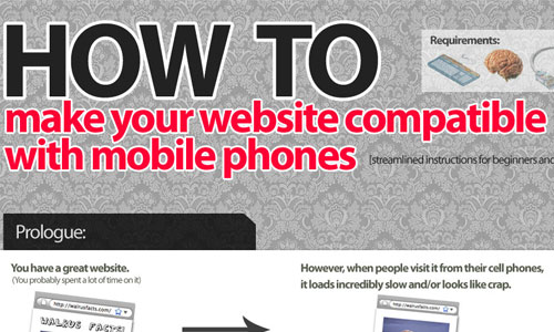 How To Make Your Site Compatible For Cell Phones