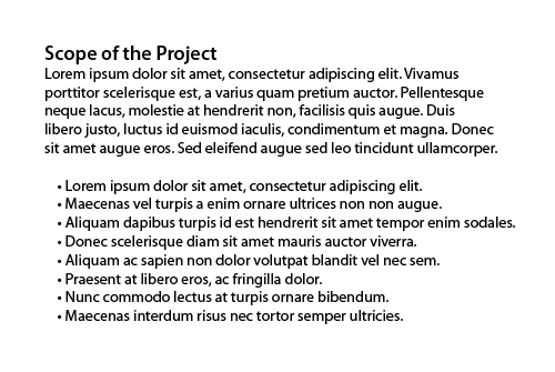 restaurant scope statement The project charter contains the project foundations - who initiated it, and why documenting the scope is very much a secondary function examples and checklist.